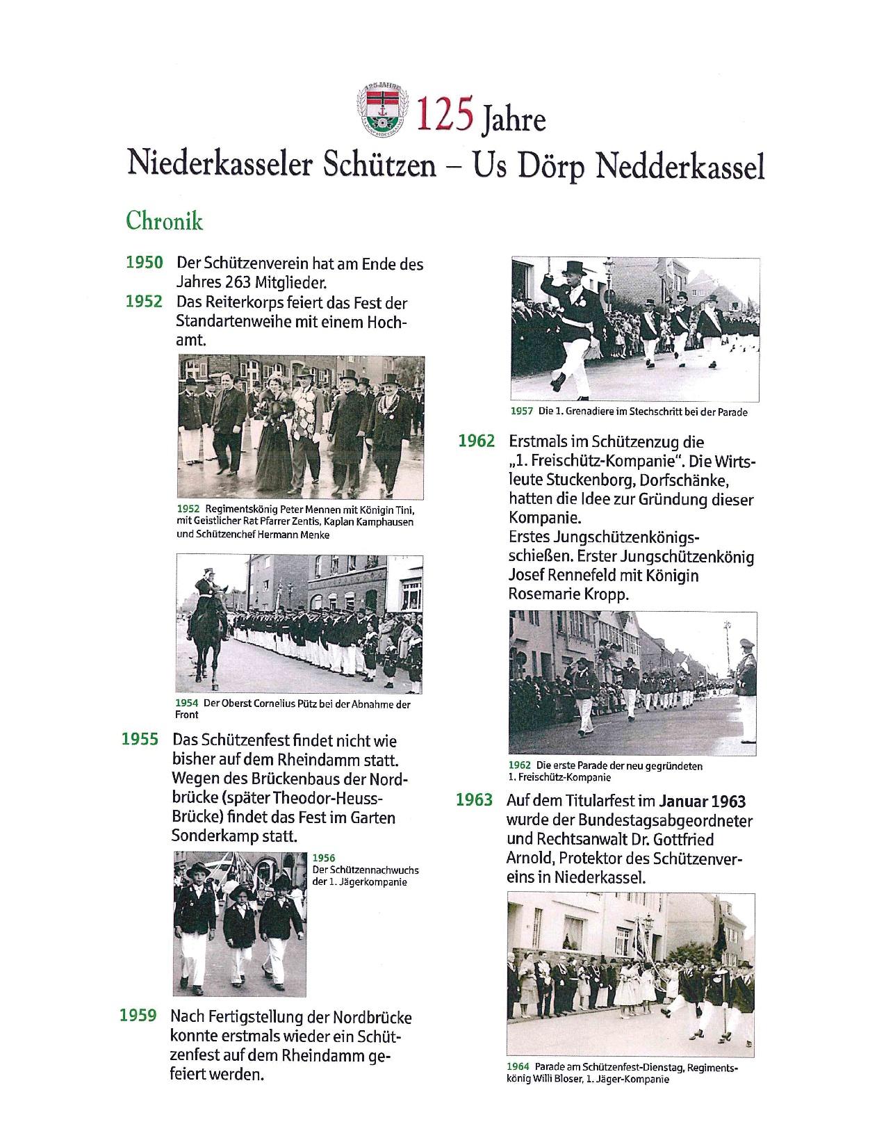 Chronik | St. Sebastianus Schützenverein Düsseldorf-Niederkassel ...